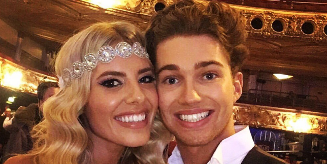 Mollie King on AJ dating rumours