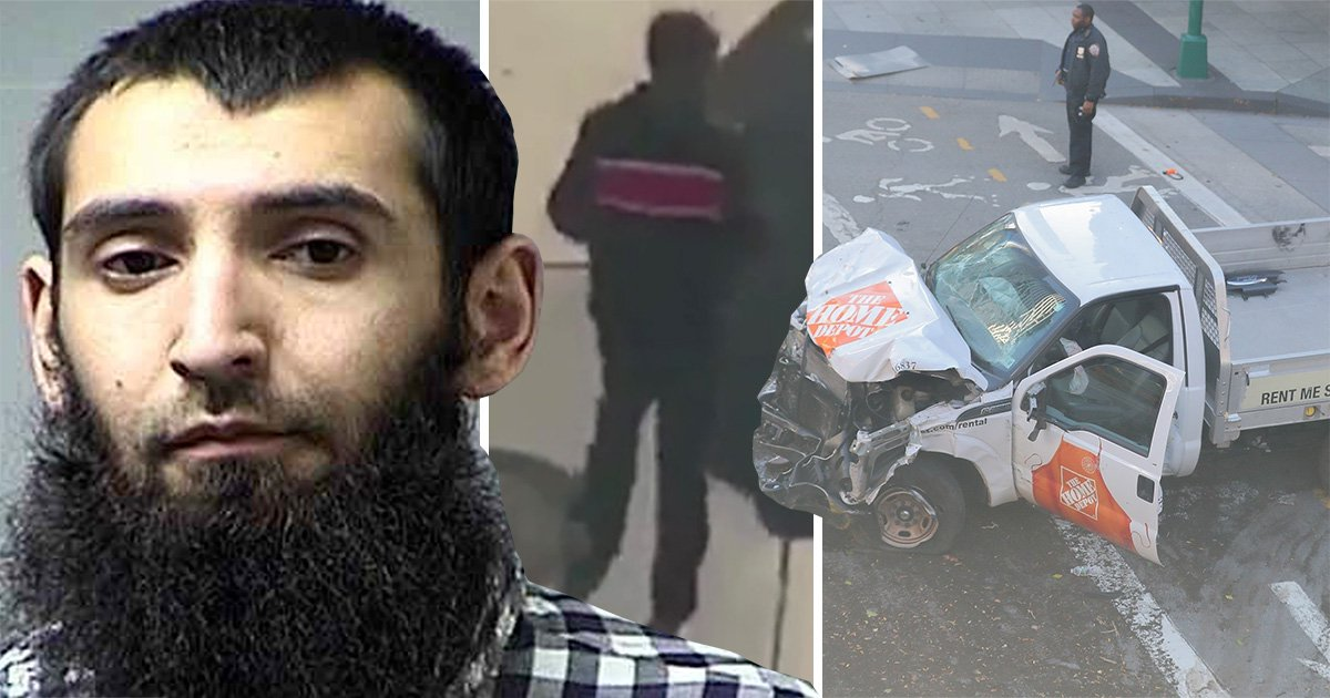 Uber driver Sayfullo Saipov behind 'cowardly act of terror' in New York killing eight people