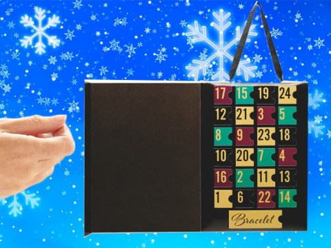 Aldi's jewellery-filled advent calendar features 23 charms and a charm bracelet