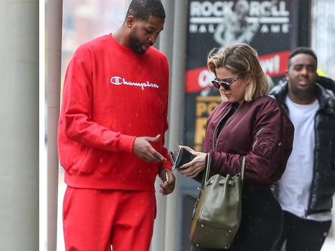 Khloe Kardashian spotted with boyfriend Tristan Thompson after appearing to confirm pregnancy
