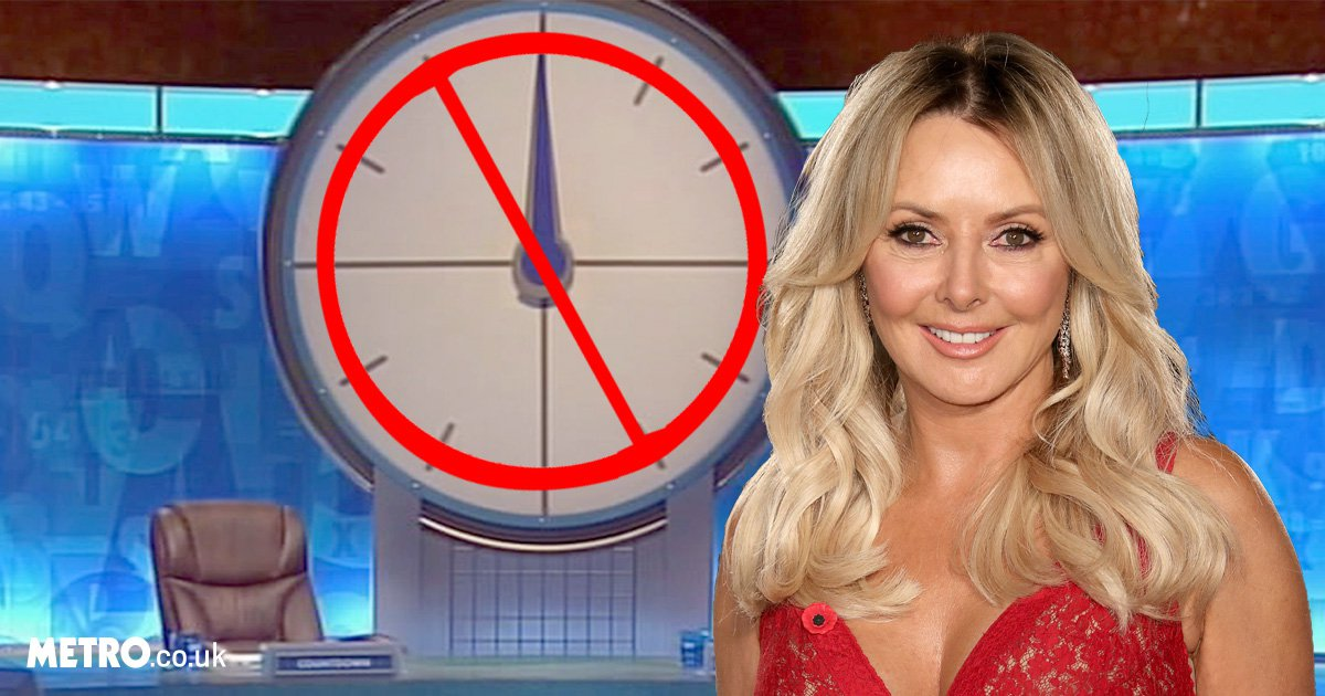 Carol Vorderman reveals she's 'banned' from Countdown studios: 'I've not been allowed back'