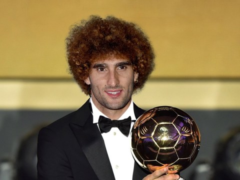 Marouane Fellaini 'just missed out' on Ballon d'Or nomination, claims Roberto Martinez