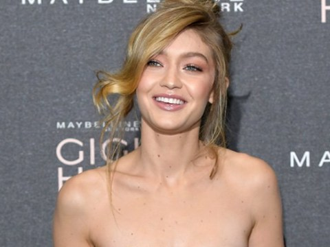 Gigi Hadid brings the sunshine to UK as she launches make-up collection