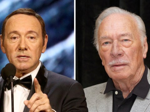 Christopher Plummer receives Golden Globes nod weeks after replacing Kevin Spacey in film