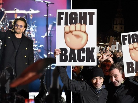 U2 pay fitting tribute to Manchester terror attack victims with special London concert