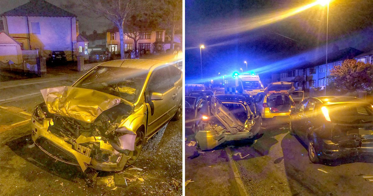 Army officer arrests suspect fleeing car crash on way home from Remembrance Sunday drills