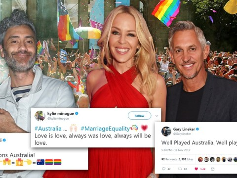 Kylie Minogue celebrates Australia's gay marriage vote: 'Love is love, always was love, always will be love'