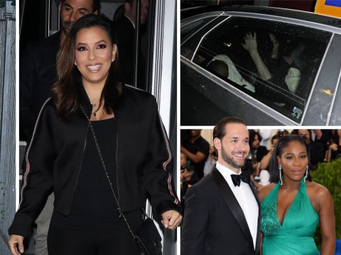Eva Longoria, Venus Williams and more arrive for Serena Williams' rehearsal dinner