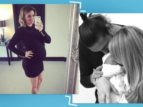 Billi Mucklow introduces new baby Wolf Nine Carroll to followers in adorable snap