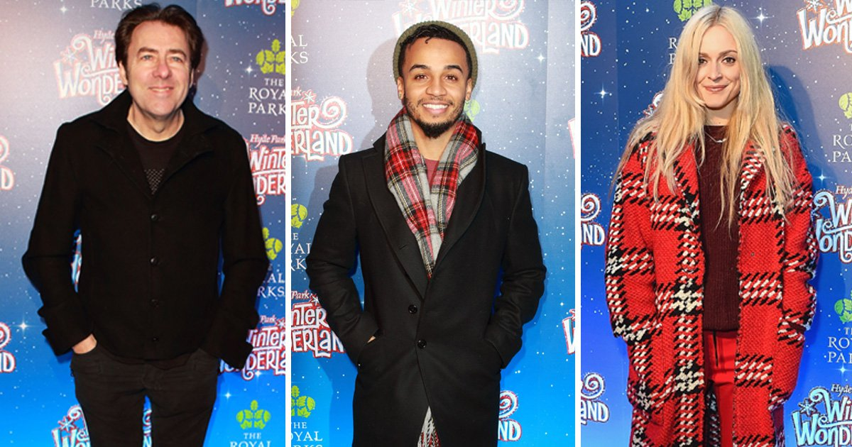 Christmas comes early as Jonathan Ross, Fearne Cotton and more arrive for Winter Wonderland