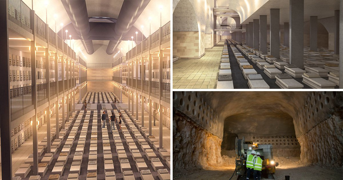 Network of tunnels built deep beneath Jerusalem will house the dead