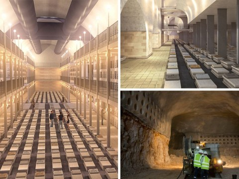 Network of tunnels built deep beneath Jerusalem will house the dead
