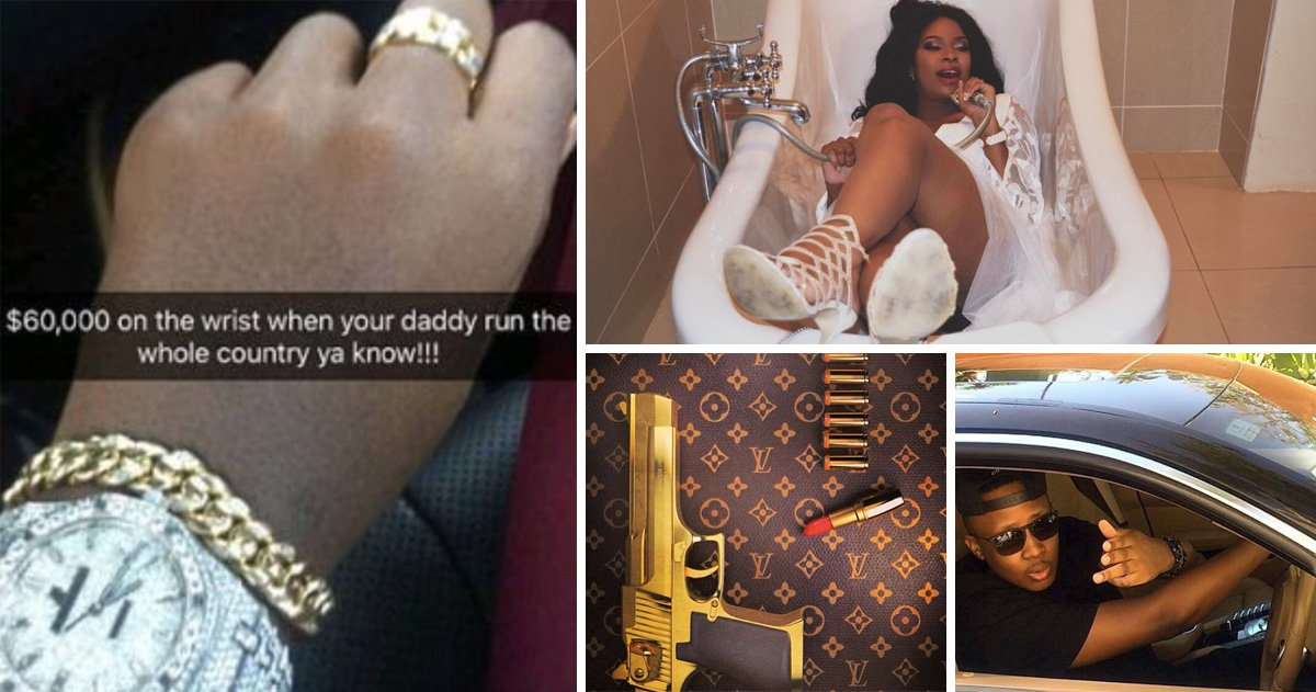How 'Rich Kids of Zimbabwe' including Mugabe's sons flaunted their wealth