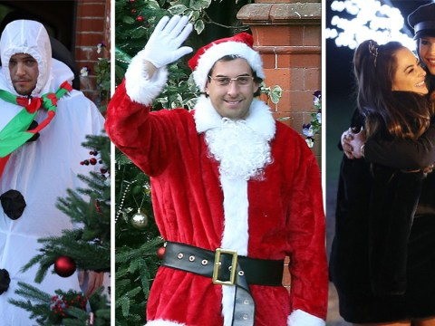 TOWIE's James 'Arg' Argent dresses up as Santa for Christmas special filming after 'spending the night with Gemma Collins'