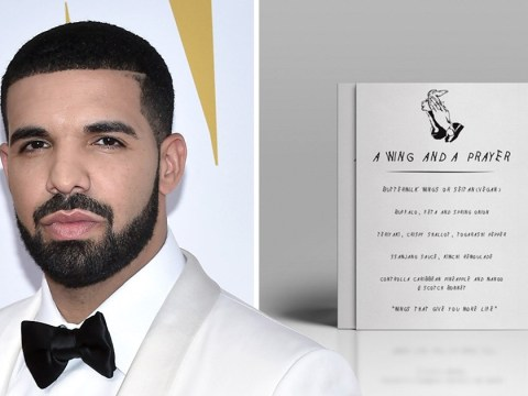 There's a Drake-themed chicken wing bar opening in Scotland this month