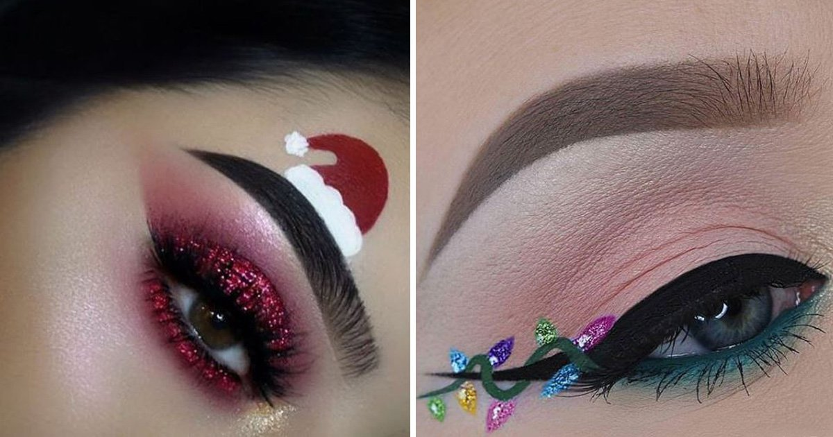 19 festive eye makeup looks to inspire you to go all out