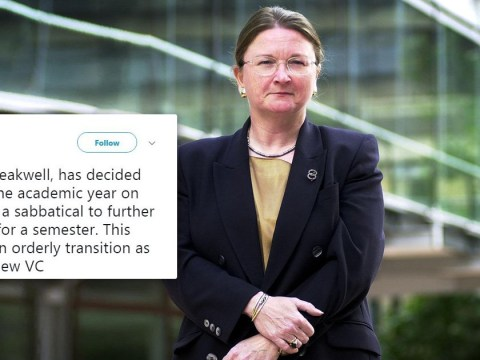 University boss quits after uproar over £468,000 salary