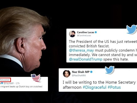 MPs call for Trump ban over Britain First retweets