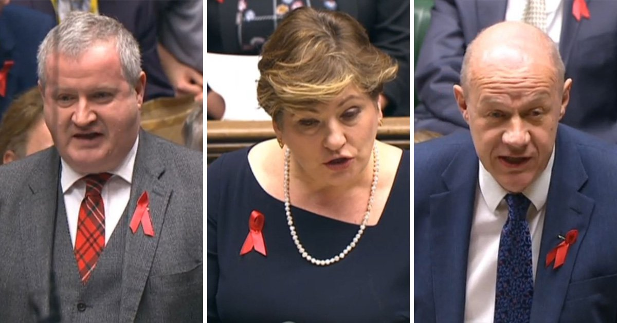 Why are MPs wearing red ribbons? Politicians supporting World Aids Day this week