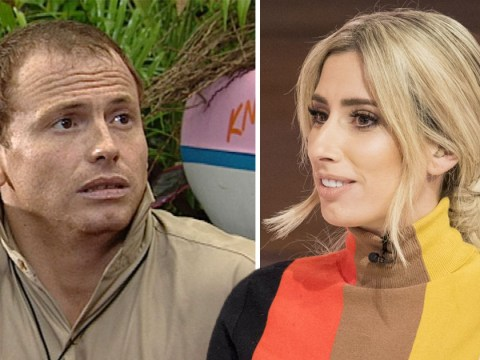 Stacey Solomon puts her foot in it on Loose Women as she discusses boyfriend Joe Swash's hair loss