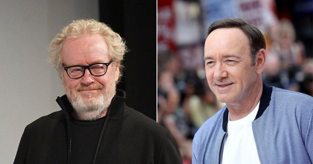 Ridley Scott and Kevin Spacey