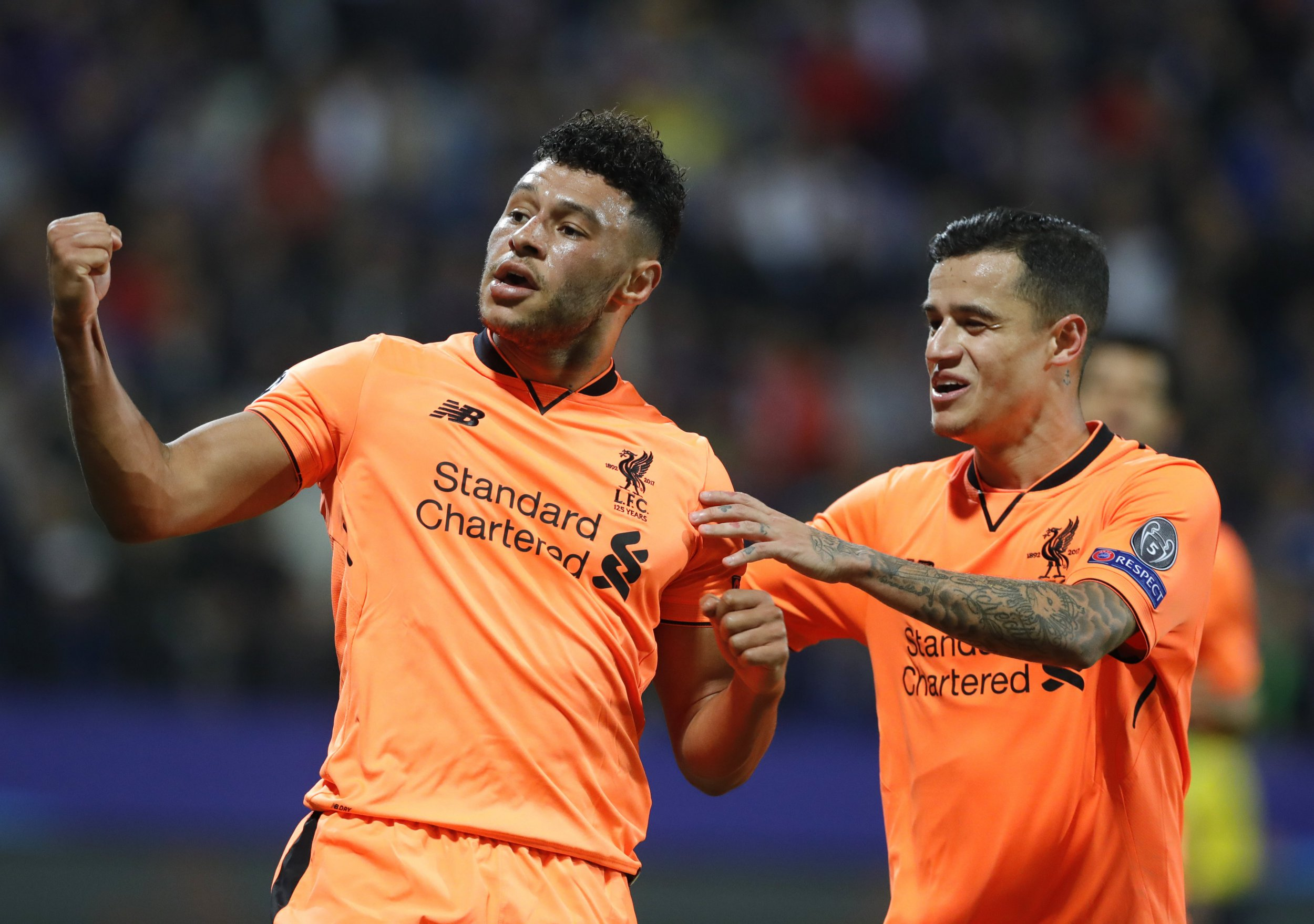 Philippe Coutinho's move to Barcelona won't affect Liverpool's attacking football, says Alex Oxlade-Chamberlain