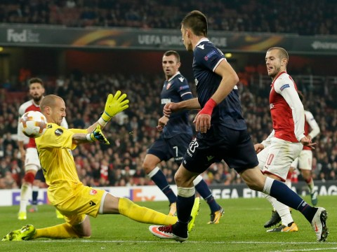 Arsenal qualify for knockout phase of Europa League with Red Star Belgrade draw