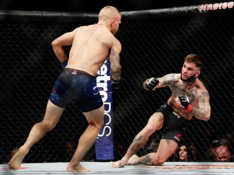 UFC 217: Rose Namajunas and T.J. Dillashaw claim world titles with stunning stoppages