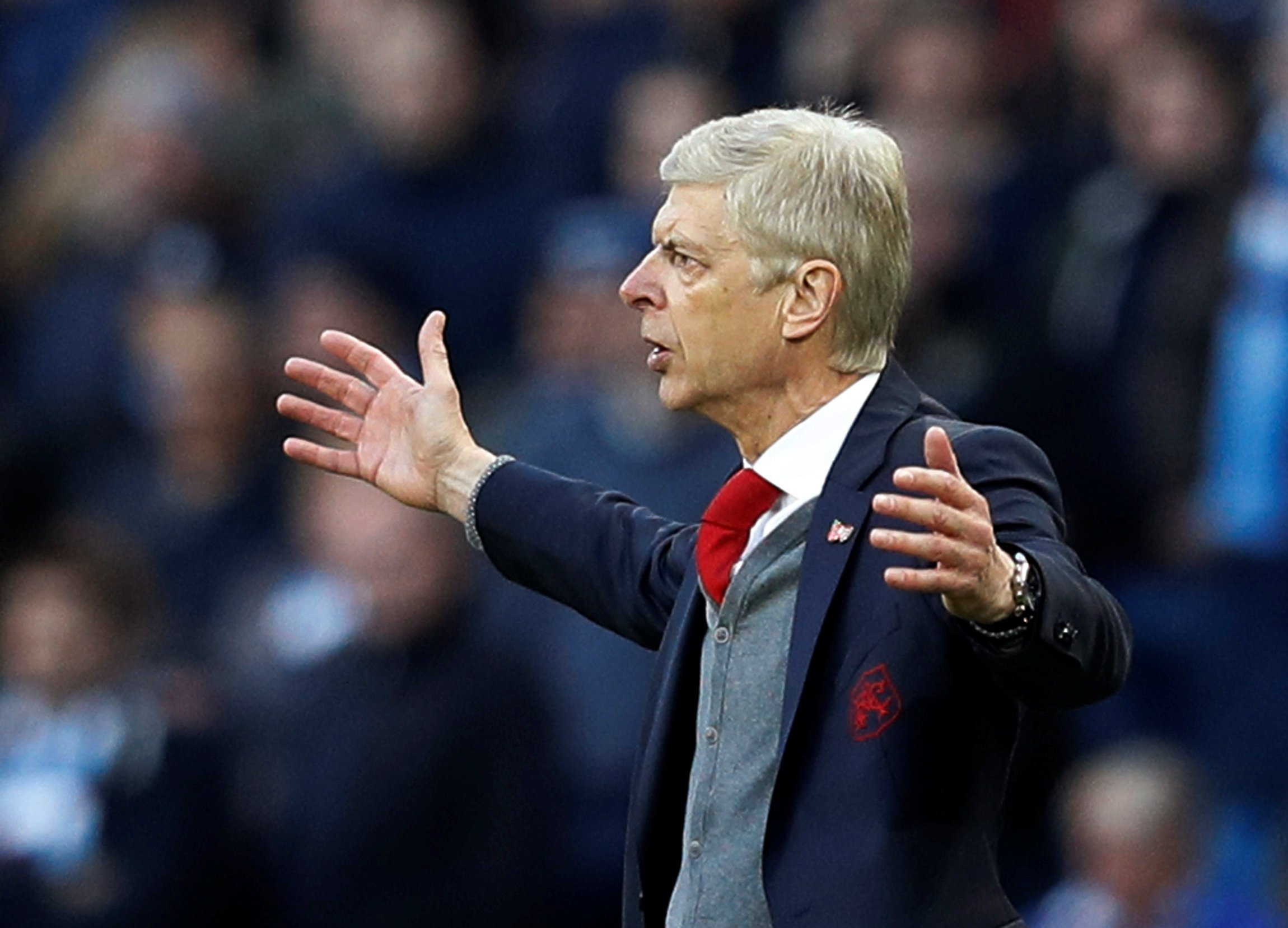 Arsene Wenger could face FA sanction after referee rant following Man City 3 Arsenal 1