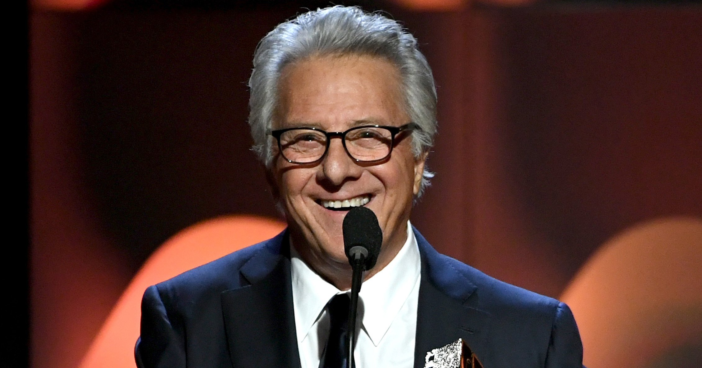 Dustin Hoffman all smiles as he makes first public appearance since sexual harassment claims