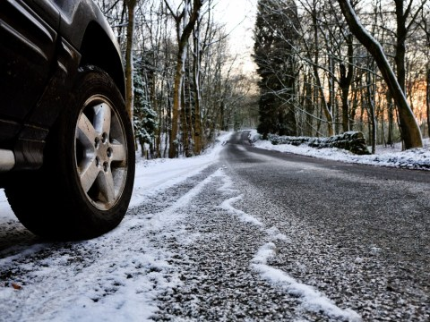 How to drive your car when the roads are covered in ice