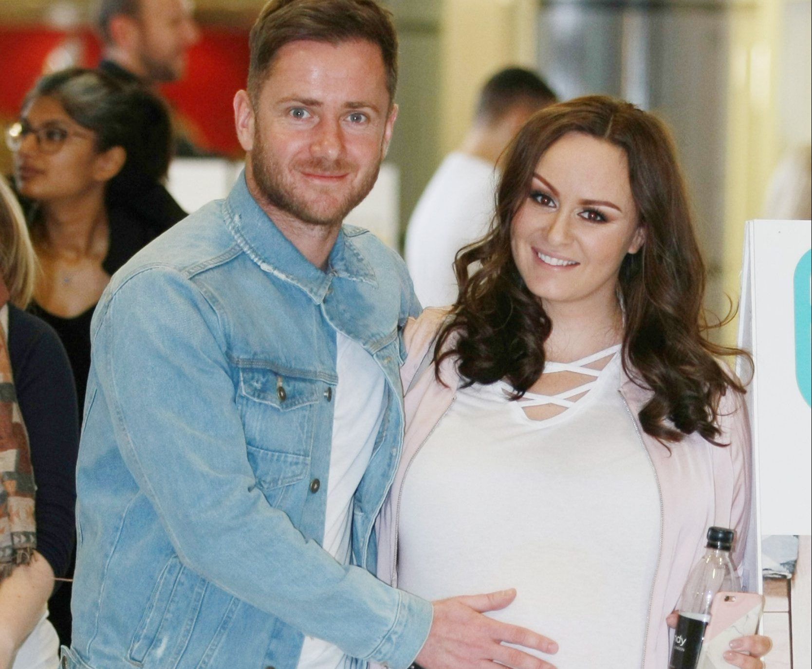 Chanelle Hayes claims boyfriend Ryan Oates has 'walked out' on her three months after she gave birth