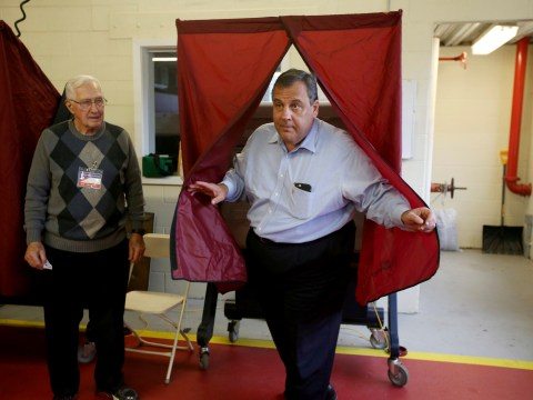 Unpopular Republican governor Chris Christie officially replaced with Democrat