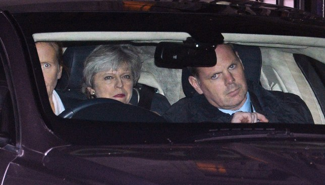 EU leaders preparing for total collapse of Theresa May's government