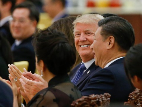 People gasp as Trump says he doesn't blame China for taking advantage of another country
