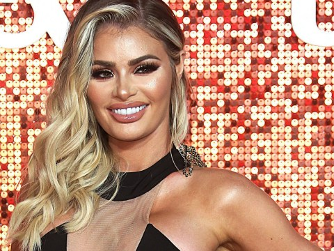 Chloe Sims brings Towie glamour to the red carpet at ITV Gala