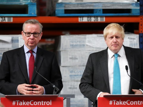 Boris Johnson and Michael Gove's secret Brexit letter has been leaked