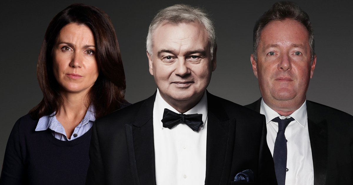 Eamonn Holmes is the nation's favourite breakfast show host of all time
