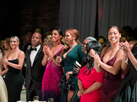 Kim Kardashian and Beyonce seen 'at VIP bar together' during Serena Williams' wedding