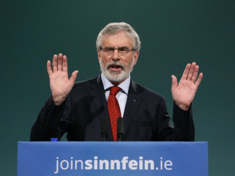 Gerry Adams to step down as Sinn Fein president next year