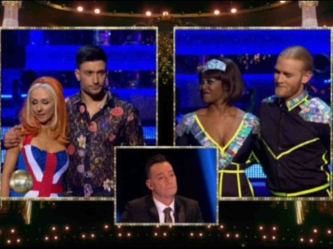 Who left Strictly Come Dancing during the Blackpool special?