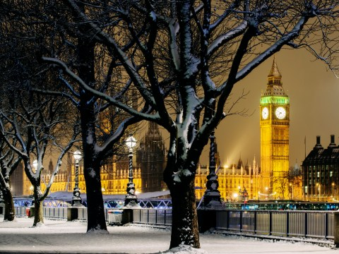 Odds of a White Christmas slashed as bookies predict snow for Britain