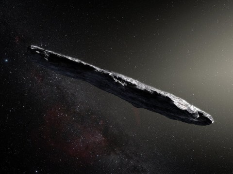 Did an alien probe enter our solar system? Asteroid 'Oumuamua could be artificial, extraterrestrial investigators suggest