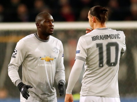 Ander Herrera forced to intervene as Romelu Lukaku misjudges tactical switch with Zlatan Ibrahimovic