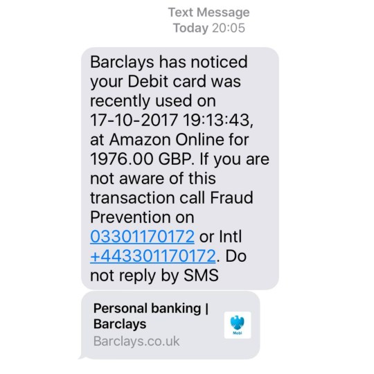 Barclays Scam Texts You Should Never Respond To And Others To Avoid Metro News