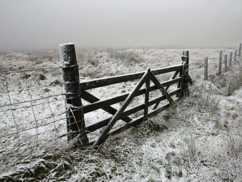 Snow is on its way for large parts of UK with cold weather forecast
