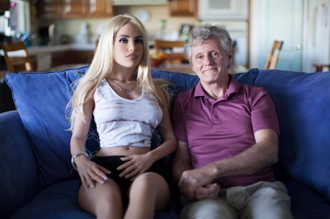 Man sleeps with his sex robot four times a week and says his wife is cool with it
