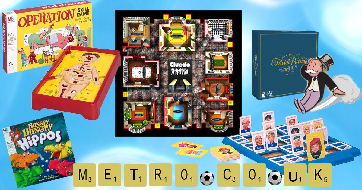 14 board games you loved playing in the 80s and 90s