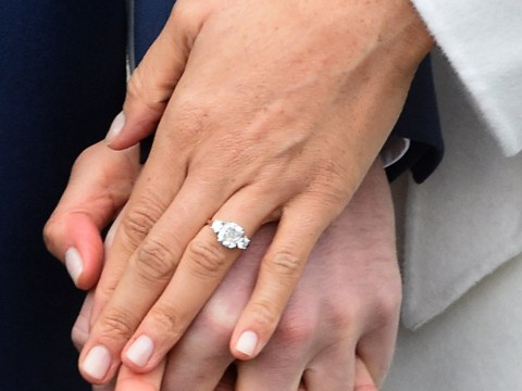 All the details of Meghan Markle's engagement ring