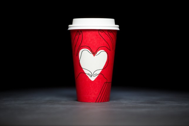 New Starbucks cup in response to 'gay conspiracy'